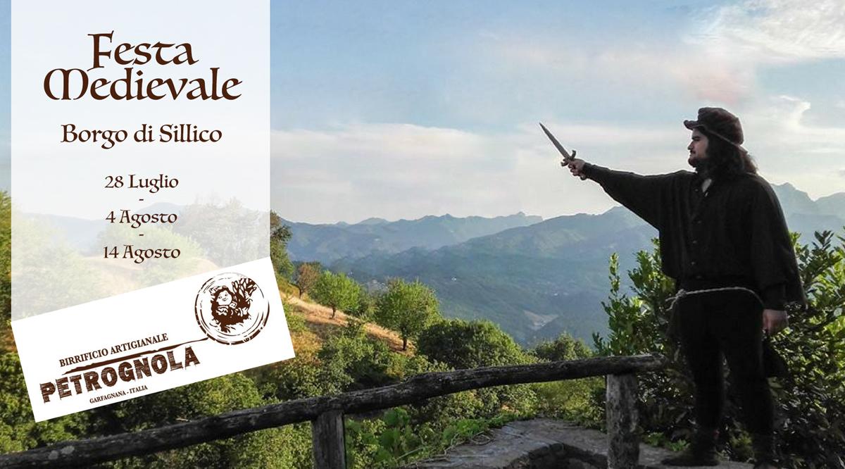 Festa Medievale a Sillico 28 luglio, 4 e 14 agosto
