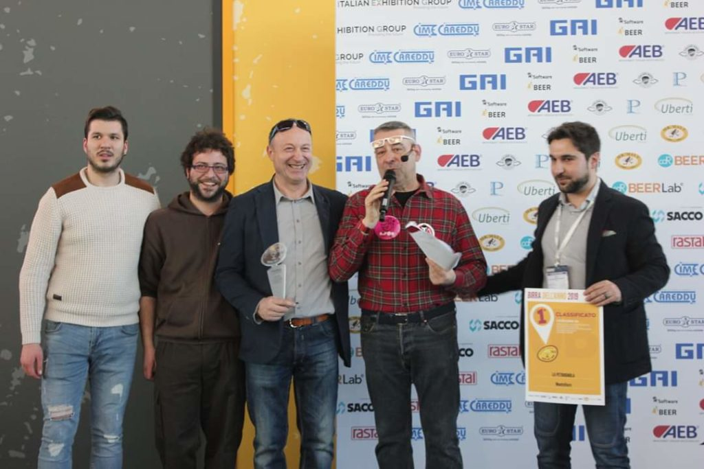 Petrognola premiata al BEER ATTRACTION 2019