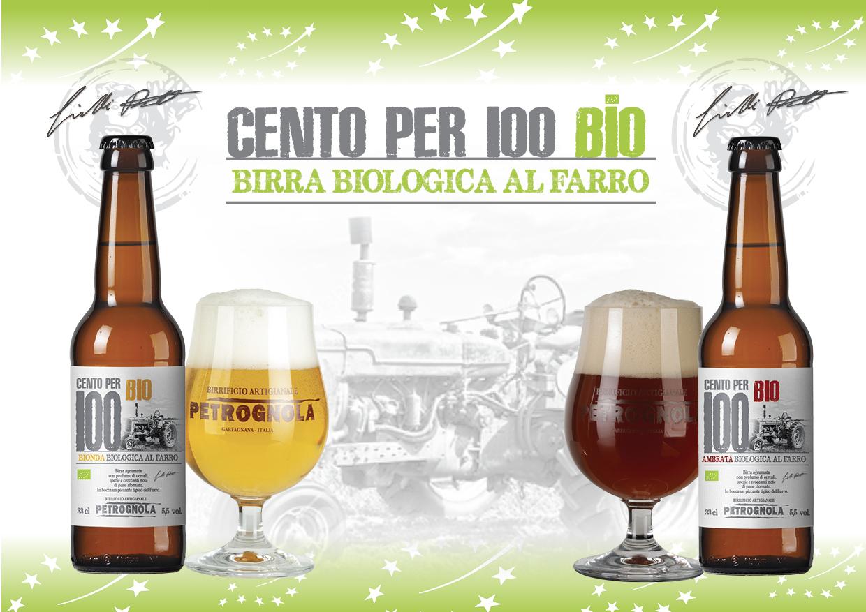 CENTO PER 100 BIO birra biologica al farro